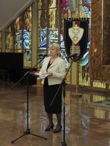LGGRTC generalinė direktorė Teresė Birutė Burauskaitė pristato leidinius